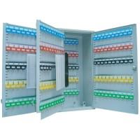 FIS Steel Key Box Lockable Holds 300 Keys