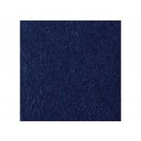 GBC LeatherGrain Binding Cover, 250gsm, A4, Navy Blue, [Pack of 100]