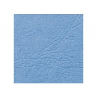GBC LeatherGrain Binding Cover, 250gsm, A4, Wedgewood Blue, [Pack of 100]