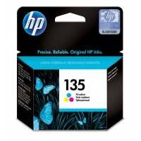 HP 135 TRI-COLOR INK CARTRIDGE (C8766HE)
