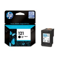 HP 121 Black Ink Cartridge (CC640HE)