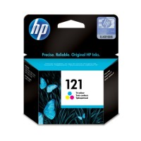 HP 121 Tri Colour Ink Cartridge (CC643HE)