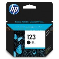 HP 123 Black Ink Cartridge (F6V17AE)