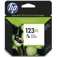 HP 123XL Tri Colour Ink Cartridge (F6V18AE)