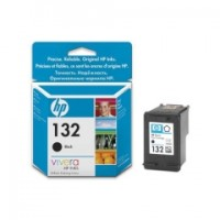 HP 132 BLACK INK CARTRIDGE