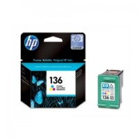 HP 136 TRI-COLOR INKJET PRINT CARTRIDGE