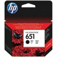 HP 651 Black Ink Cartridge (C2P10AE)