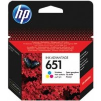 HP 651 Tri Colour Ink Cartridge (C2P11AE)
