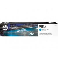 HP 981A Cyan Original PageWide Cartridge (J3M68A)
