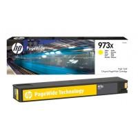 HP 973X High Yield Yellow Original PageWide Cartridge (F6T83AE)