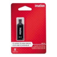 Imation 8GB Flash Drive, USB 2.0