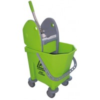 Hygiene System Single Wringer Mop Bucket  22 Liters - [Malaysia]