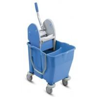 IPC RSMV 30 Double Mop Bucket w/ Wringer 18 + 12L - [ITALY]