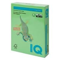 IQ Colored Copy Paper, Green, A4 Size, 80gsm, 500 Sheets/Ream