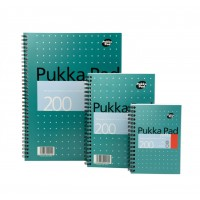 Pukka Jotta Notepad, 80gsm, Lined, Wirebound, A4, 200 pages