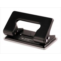 Kangaro DP-480, 2 Hole Paper Punch, 12 Sheets Capacity, Random Color