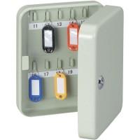 Key Cabinet Steel Lockable Holds 20 Keys [KB-20]