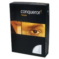Conqueror Paper, A4, 100gsm, Brilliant White, Laid Finish, 500sh/Pack