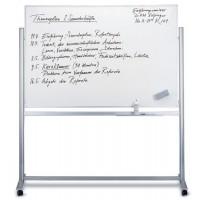Magnetoplan Mobile Magnetic White Board, Revolving, 120cm X 90cm