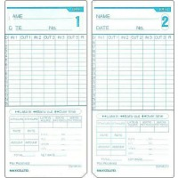 MAX ER-M Time Card 100/Pack