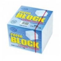 FIS FSBL9X7PL Memo Cube Refill Paper White Loose