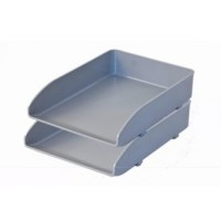 Metro 3461D Double Document Tray Grey