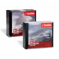 Imation Mini CD-R, 24Min/210MB, w/ Jewel Case, 5/Pack