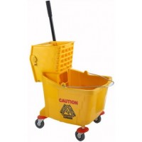 Single Mop Bucket w/ Wringer 25L Capacity - CHINA