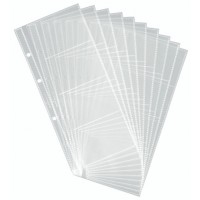 Durable 2387 A5 Transparent Refill Set, 10/Pack, 80 Cards