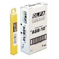 Olfa ASB-10 Spare Blades, 9mmX80mm, 10/Pack