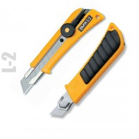 Olfa L-2 Heavy Duty Cutter W/Rubber Grip