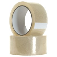 "Packaging Tape, Clear, 2"" X 50 Yards"