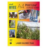 Pauli Laser Glossy Adhesive Film A4 Bright White PK/20