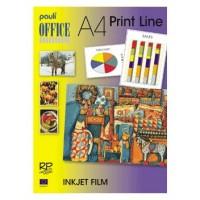 Pauli Inkjet Film Adhesive A4 Clear Transparent PK/50