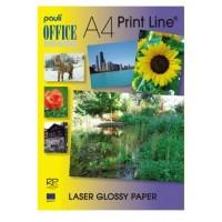 Pauli Laser Glossy Paper A4 White 150gsm PK/100