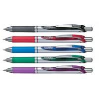 Pentel Energel BL77 Retractable Liquid Gel Ink Pen 0.7mm PK/12