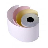 Cash Register Paper Roll, 3 Ply, 76mm X 70mm X 12mm [Box of 100 Rolls]