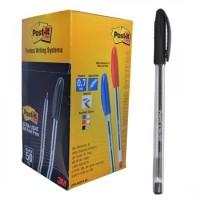 POST IT 3M Ultra-Light Ball Pen PK/50 Black