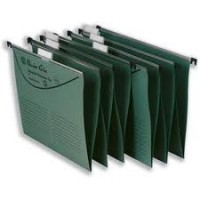 Premier Grip Suspension File, 225gsm, F/S, Dark Green, 50/Box