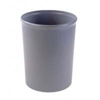 Partner Plastic Waste Bin Large Grey