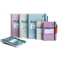 Pukka Executive Project Book, 80gsm, Wirebound, A5, Assorted 200 pages