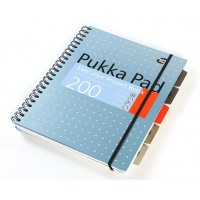 Pukka Executive Project Book, 80gsm, Wirebound, A4, Assorted 200 pages