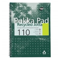 Pukka RCA4/110 Recycled Notebook A4, 110 Pages