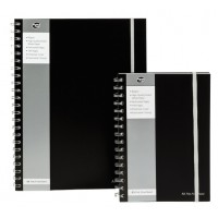 PUKKA Jotta Polyprop A5 Notebook 160 Pg. Black [SBJPOLYA5]