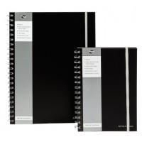 PUKKA Jotta Polyprop A4 Notebook 160 Pg. Black [SBJPOLYA4]
