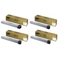 4 Colour Samsung 806 Toner Cartridge (CLT-K806S/C806S/M806S/Y806S)