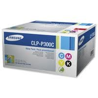 Samsung CLP-P300C Value Pack Black Cyan Magenta Yellow