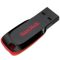 SanDisk 8GB Cruzer Blade Flash Drive, USB 2.0