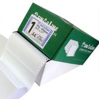 Sinarline Computer Paper A3, 1 Ply, White w/G. Bar, Box of 2000 Sheets