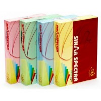 Sinar Spectra Colored Copy Paper, A4, 80gsm, Yellow, PK/500 Sh